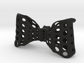 Men's Bow-Tie (built in clip)! in Black Strong & Flexible