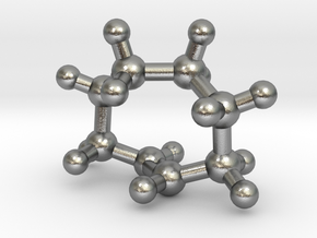 trans-Cyclooctene (small) in Natural Silver