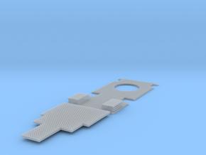 TMF Flughafen Stuttgart Aufbau Deck in Smooth Fine Detail Plastic