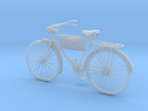 1:16 German Infantry Scout Bicycle in Smooth Fine Detail Plastic