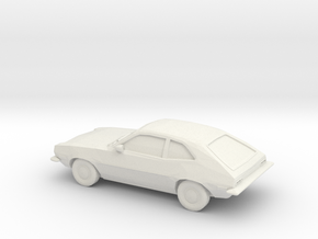 11/87 1972 Ford Pinto in White Natural Versatile Plastic