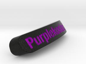 Purplekoolaid Nameplate for SteelSeries Rival in Full Color Sandstone