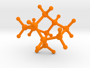 Twistane in Orange Processed Versatile Plastic