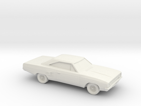 1/87 1968-70 Plymouth GTX in White Strong & Flexible