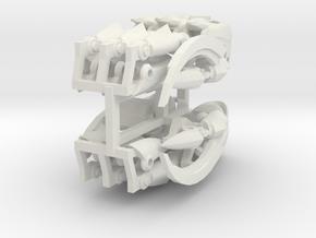 Ultimate Predaking Hands in White Natural Versatile Plastic