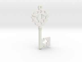 Franklin's Key to Purgatory from Sleepy Hollow in White Natural Versatile Plastic