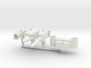 Hector Upgrade Kit in White Natural Versatile Plastic