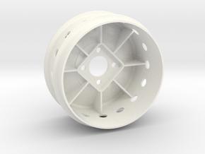 "ZC-835 Mod 2.2"" (1pcs) in White Processed Versatile Plastic"