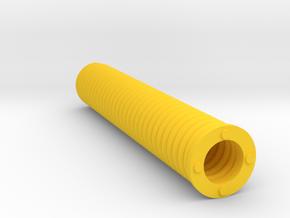 Key Handle Spring (3 of 9) in Yellow Processed Versatile Plastic