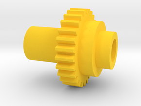Inventing room Key Right Gear (9 of 9) in Yellow Strong & Flexible Polished