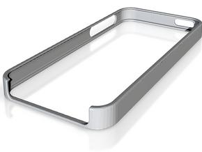 iPhone 5 Bumper for Customization and 3D Printi... in White Natural Versatile Plastic