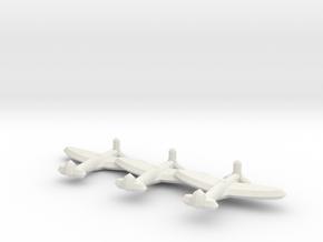 Spitfire Mk. I/V  (Triplet) 1/900 in White Strong & Flexible