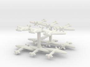 Seafire Mk. III (Triplet) 1/900 x4 in White Natural Versatile Plastic