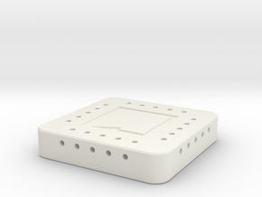 APT Inset Variable 49.5 mm in White Natural Versatile Plastic