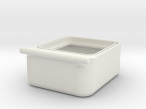 Transport Box Bottom 30mm in White Strong & Flexible