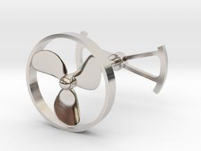 OpenROV Cufflinks in Platinum