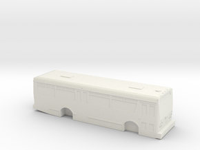 HO scale TMC citycruiser T-30 (Orion I) solid in White Strong & Flexible