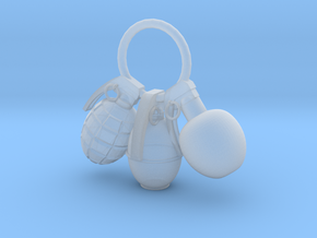 Hand grenade in Smooth Fine Detail Plastic