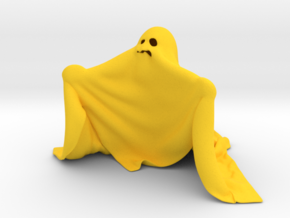 Ghost in Yellow Processed Versatile Plastic