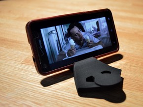 Lazy boy Smartphone Stand  in Black Strong & Flexible