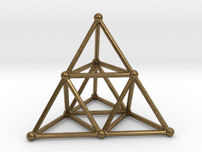 TETRAHEDRON (stage 2) in Natural Bronze