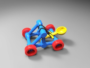 Catapult in Yellow Processed Versatile Plastic