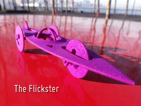 The Flickster in Purple Strong & Flexible Polished