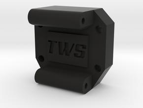 Tamiya M04RR Conversion Spacer in Black Natural Versatile Plastic