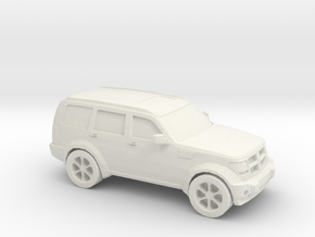 1/87 2010 Dodge Nitro in White Natural Versatile Plastic