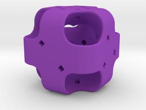 Dice110 in Purple Processed Versatile Plastic