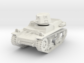PV58A T14 Light Tank (28mm) in White Natural Versatile Plastic