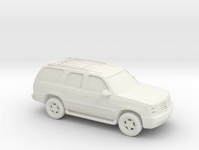 1/87 2001-06 Cadillac Escalade in White Natural Versatile Plastic