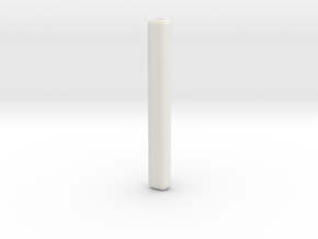 Handle - Innovation vs. Utility in White Natural Versatile Plastic