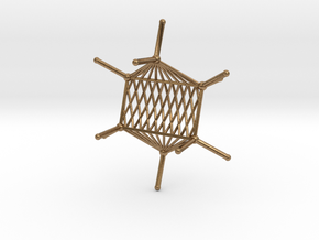Cyclohexane Hammock in Natural Brass