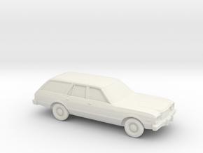 1/87 1978 Plymouth Volare Wagon SR  in White Natural Versatile Plastic