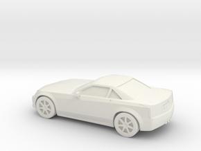 1/87 2004-09 Cadillac XLR in White Natural Versatile Plastic