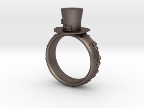 St Patrick's hat ring(size = USA 7-7.5) in Stainless Steel