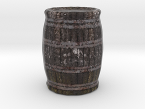Miniature Barrel in Full Color Sandstone