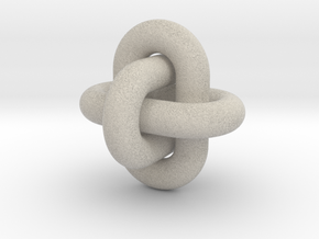 Borromean Rings 12 13 2014 in Natural Sandstone