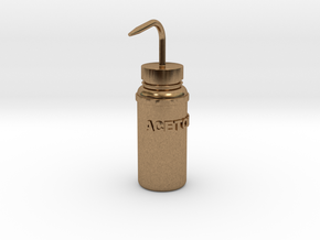 Squirt Bottle 1:7 in Natural Brass