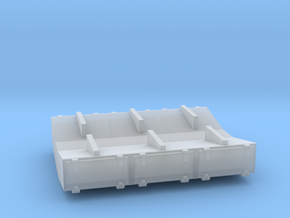 PRR 2¼ ton Ice Bunker/Sump (1/160) in Smooth Fine Detail Plastic