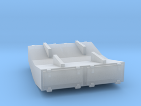 PRR 1½ ton Ice Bunker/Sump (1/160) in Smooth Fine Detail Plastic