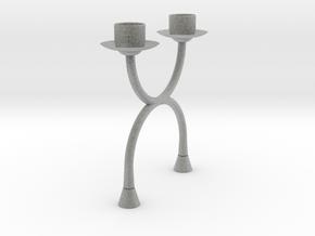 Candlestick functional2 (Ø21-22mm)/Kandelaar in Metallic Plastic