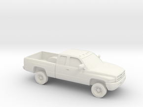 1/87 1994-01 Dodge Ram 2500  Extended Cab in White Strong & Flexible