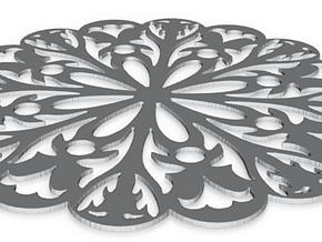 Coaster Scroll Saw in White Natural Versatile Plastic