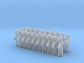 Doll Tokens in Smooth Fine Detail Plastic