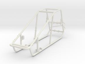 Frame in White Natural Versatile Plastic