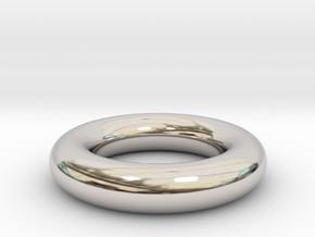 Toroidal ring in Platinum
