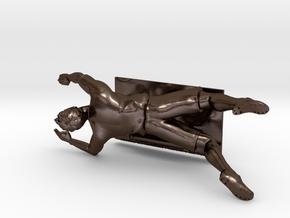 Flying Dutchman / Robin van Persie  in Polished Bronze Steel