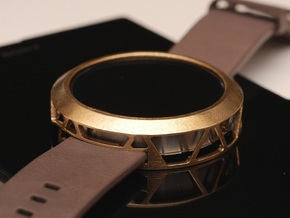 Moto360 Case - Premium in Natural Brass